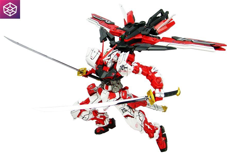 Chiết Khấu Sản Phẩm Mo Hinh Lắp Rap Gundam Bandai Mg Gundam Astray Red Frame Kai Bandai Mg