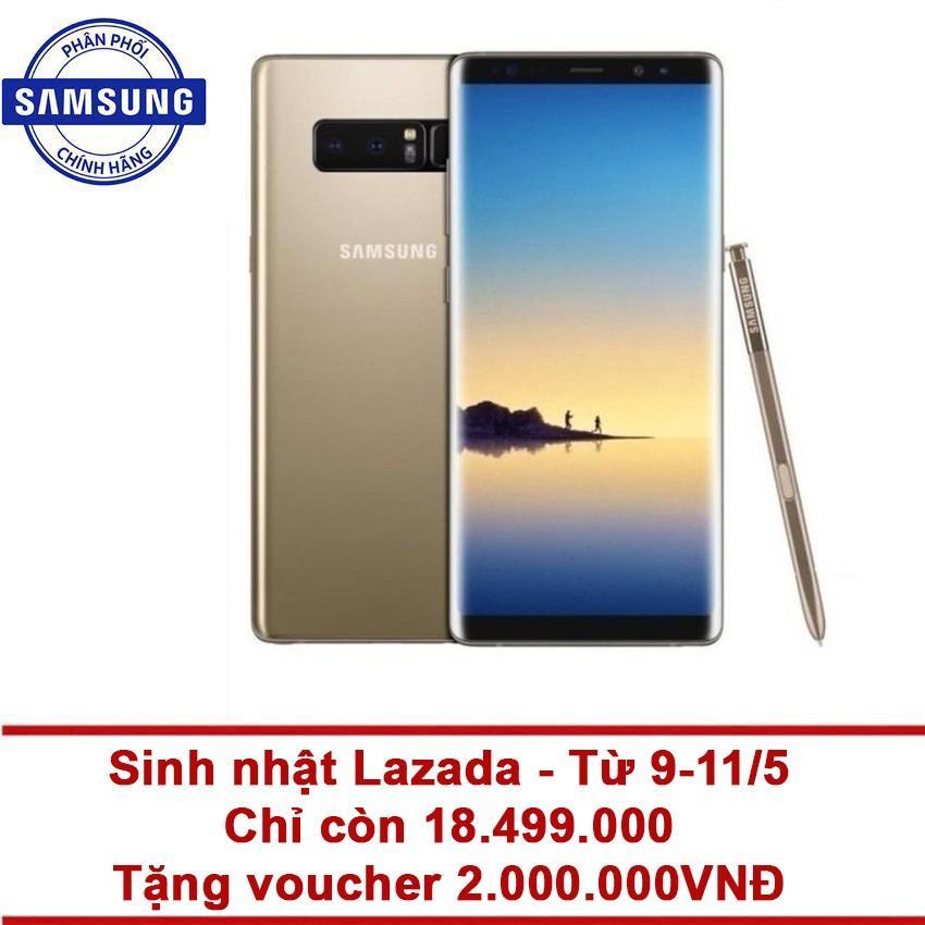 Giá Bán Samsung Galaxy Note 8 64Gb Ram 6Gb 6 3 Inch Vang Hang Phan Phối Chinh Thức Tặng Phiếu Mua Hang 2 000 000 Vnđ Samsung Tốt Nhất