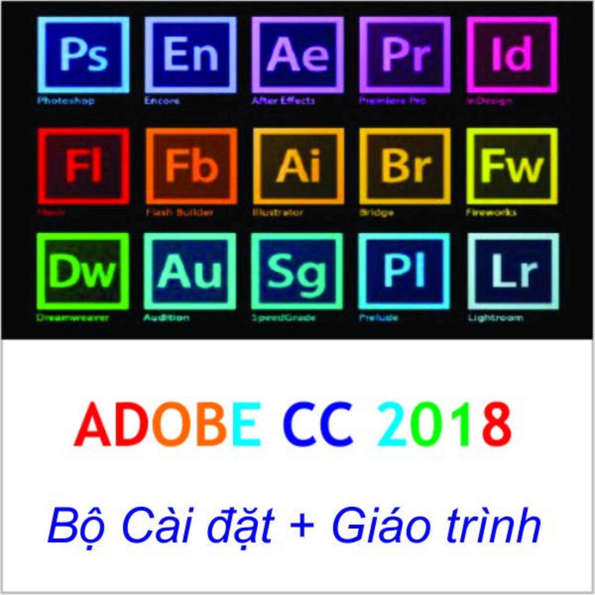 Hình ảnh Trọn Bộ DVD Adobe Master Collection Creative Cloud CC 2018