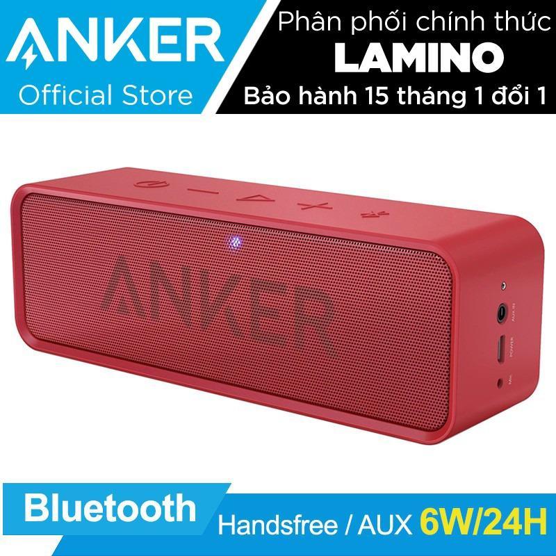 Giá Bán Loa Di Động Bluetooth Anker Soundcore Stereo Speaker Đỏ Hang Phan Phối Chinh Thức Trong Hồ Chí Minh