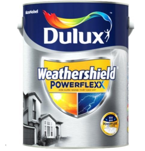 Hình ảnh Sơn nước ngoại thất cao cấp Dulux Weather Shield PowerFlexx - bề mặt bóng/ mờ
