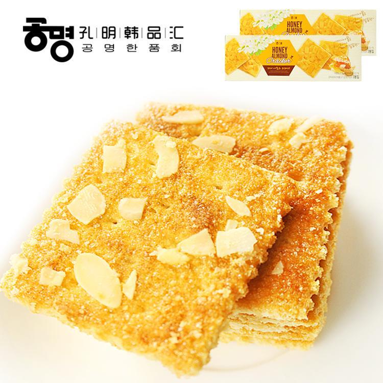 Hình ảnh Bánh hạnh nhân mật ong HAITAI Hàn Quốc 67g