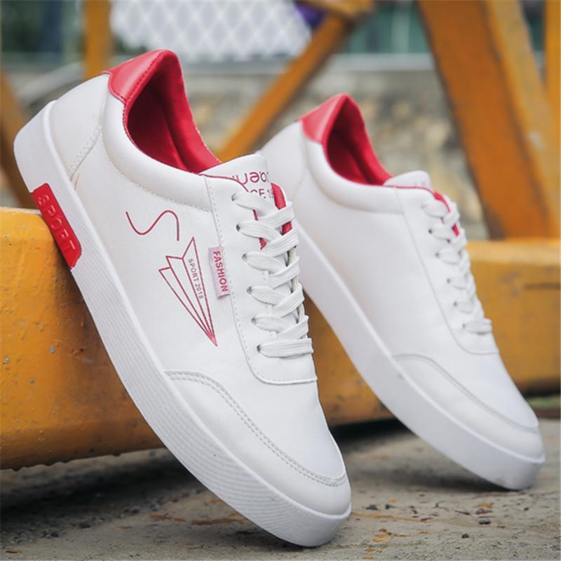 ... Netral sepatu pria musim gugur sepatu trendi murid Tren sepatu sneaker  Gaya Korea Sepatu kanvas Musim 46b4437c31