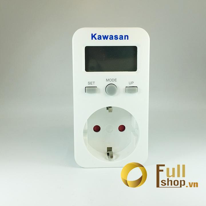 Ổ cắm đo điện năng tiêu thụ, đồng hồ đo công suất đa năng Kawa Kw - EN106