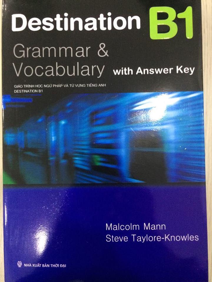 Mua Destination Grammar & Vocabulary with Answer Key B1