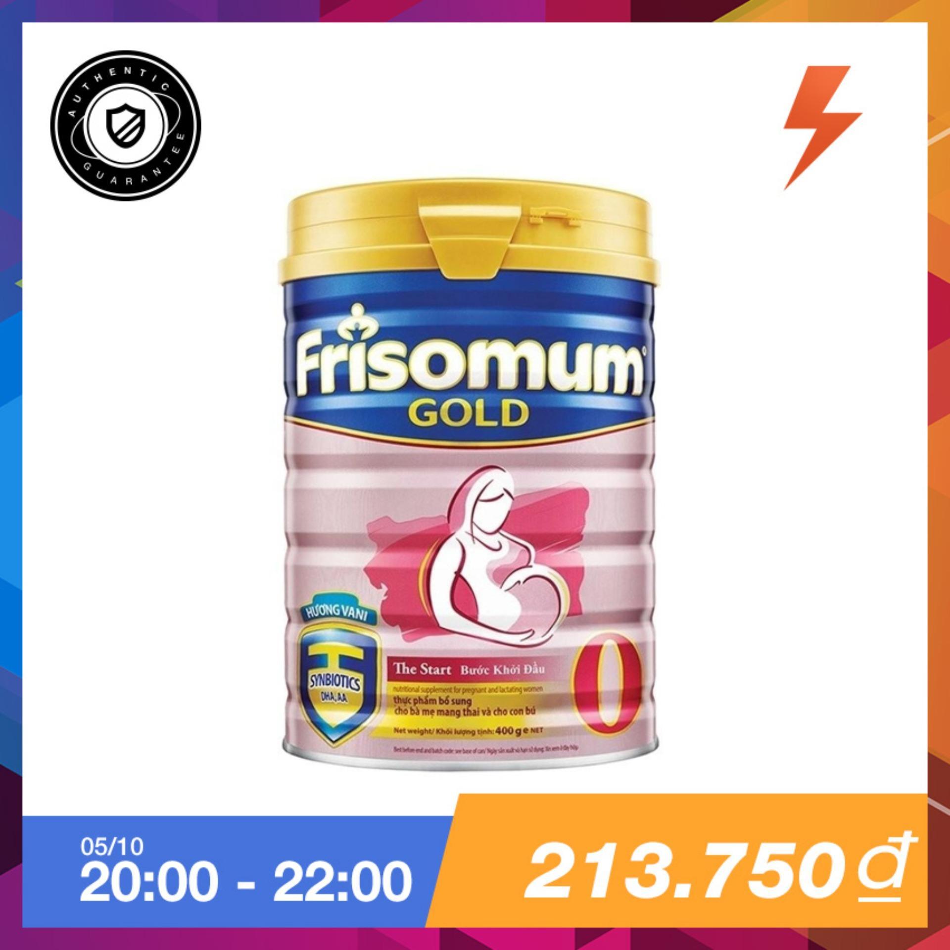 Mua Sữa Bột Frisomum Gold Hương Vani 400G Friso Trực Tuyến