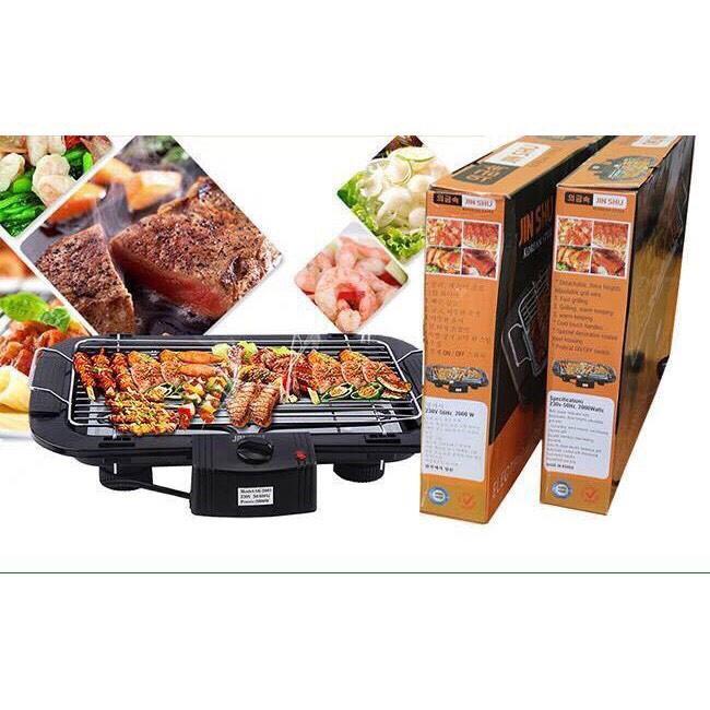 Bếp nướng điện cao cấp không khói Electric barbecue grill 2000w (KH CHỈ CHỌN SỐ LƯỢNG 1SP/ĐƠN HÀNG TRÁNH TÌNH TRẠNG CHÊNH CÂN NẶNG SHOP K GỬI ĐƯỢC)