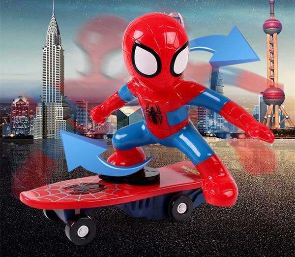 Hình ảnh Đồ chơi người nhện lướt ván