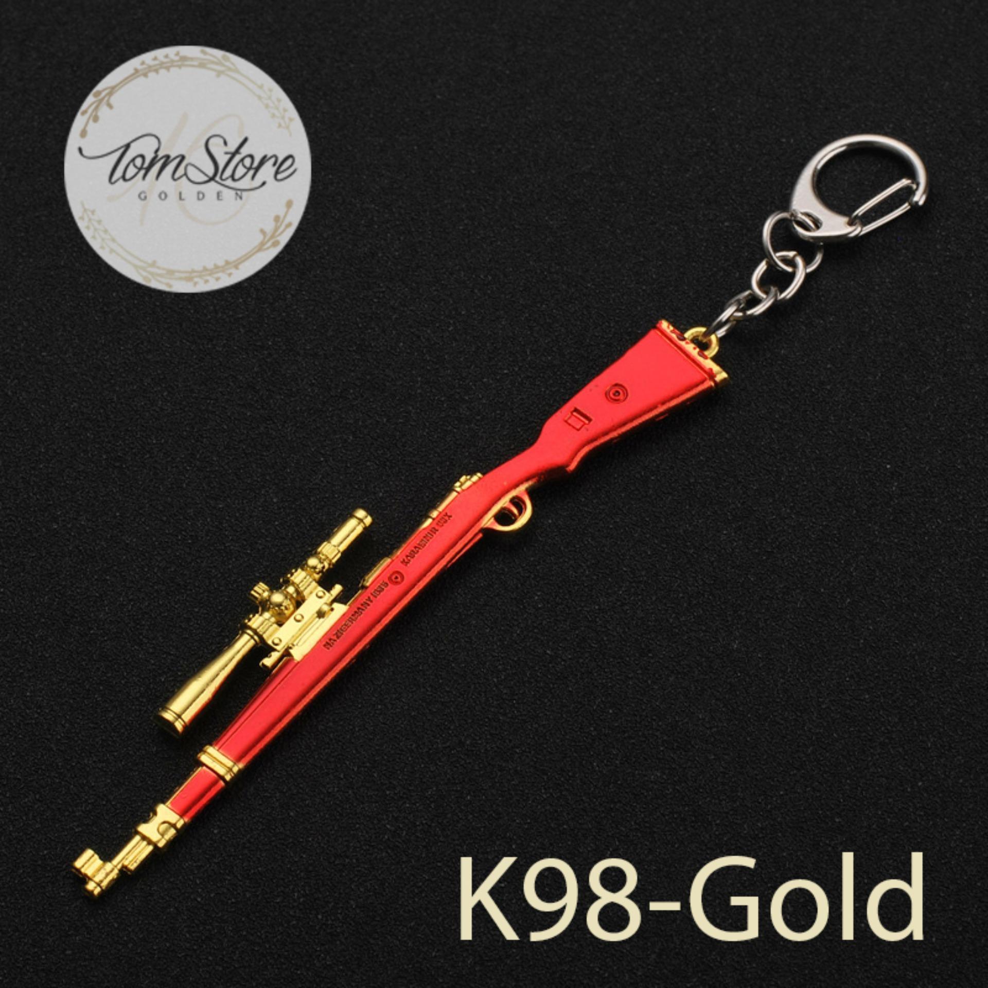 Hình ảnh Móc khóa mô hình PUBG - K98 Gold _ts407