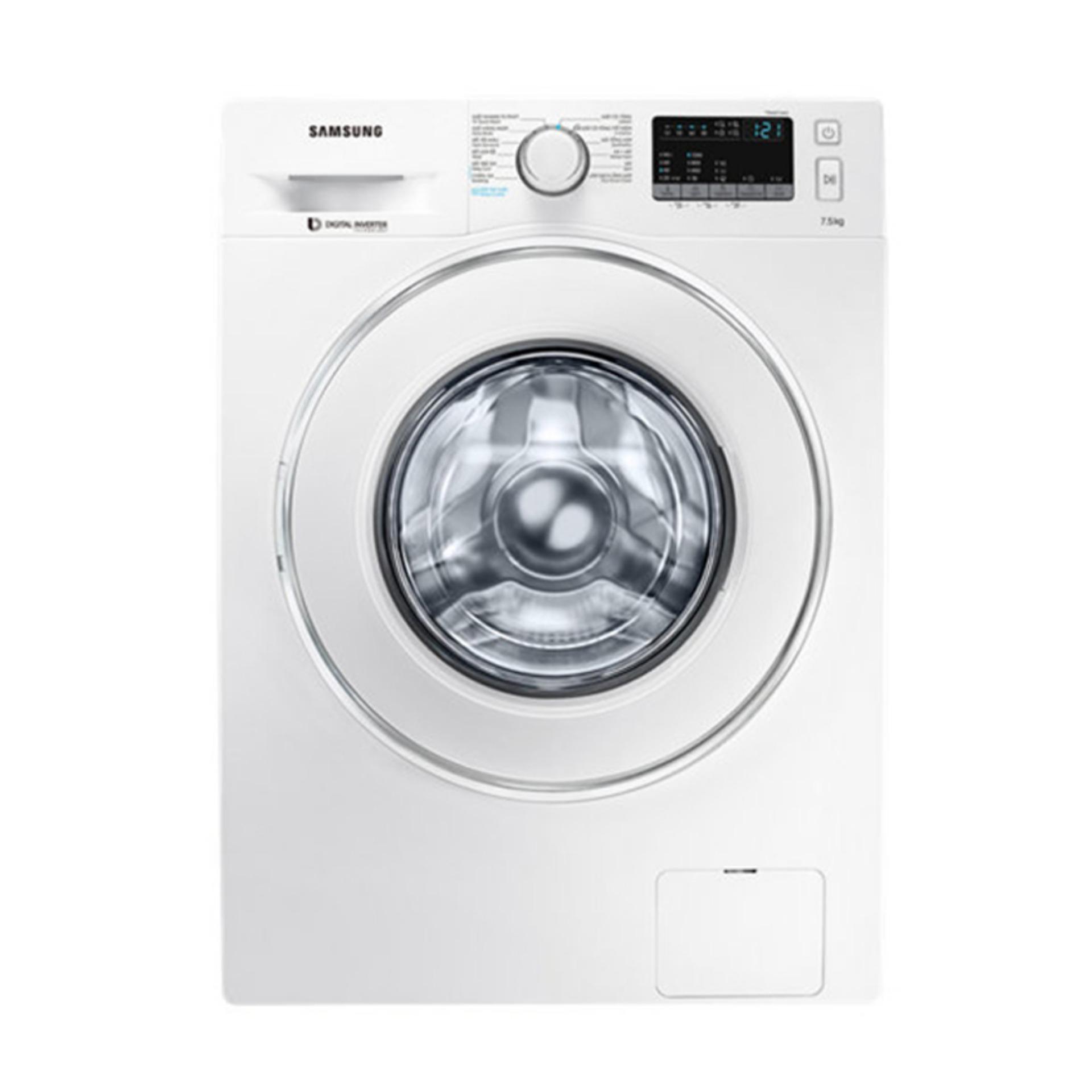 Máy giặt cửa trước hơi nước Inverter Samsung WW75J42G0IW/SV 7.5kg (Trắng) chính hãng