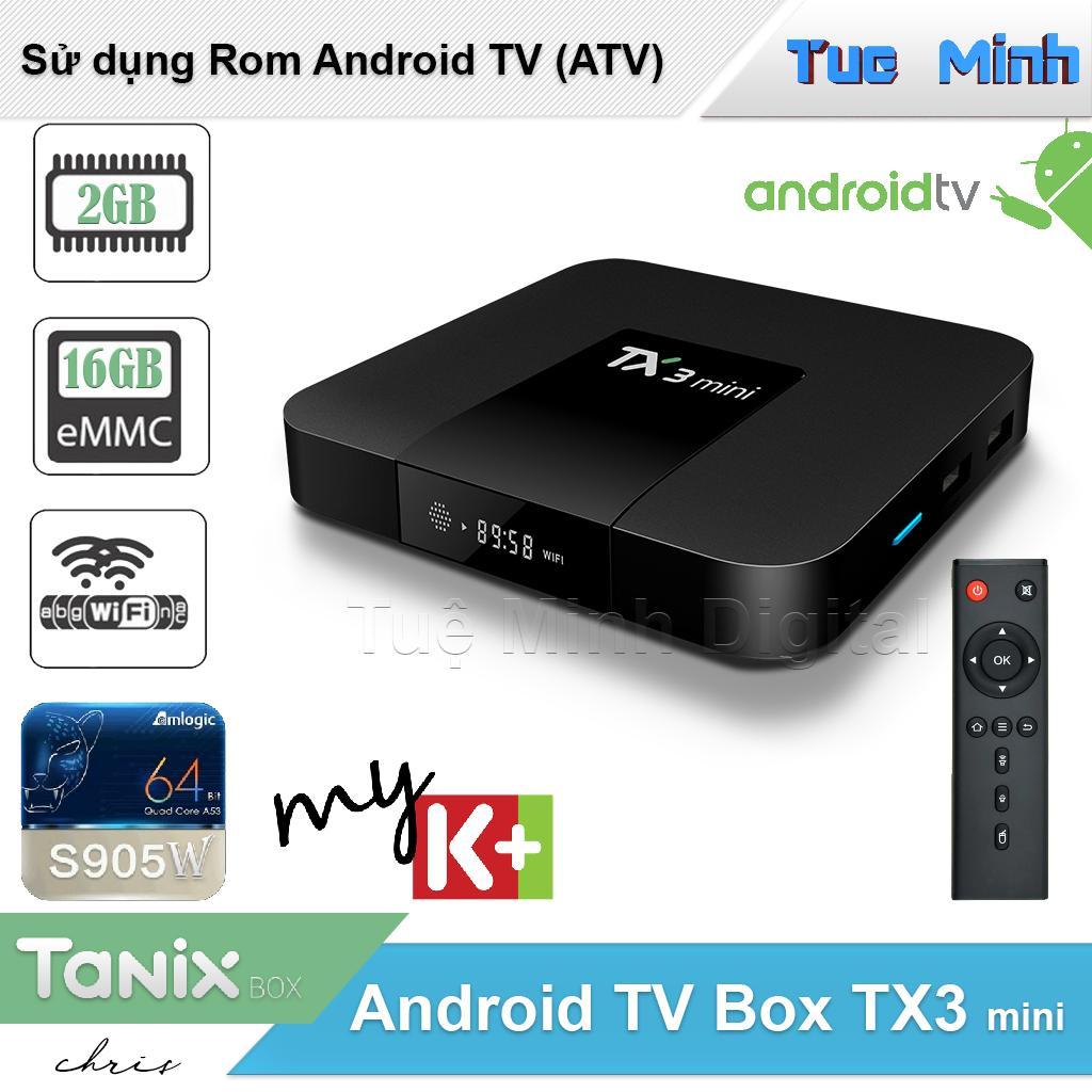 Android TV Box TX3 mini phiên bản 2G Ram và 16G bộ nhớ trong