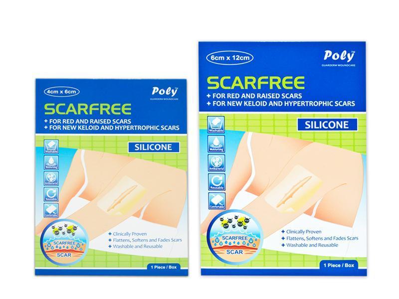 Miếng dán ngừa sẹo Silicon Scarfree (6x12cm) nhập khẩu
