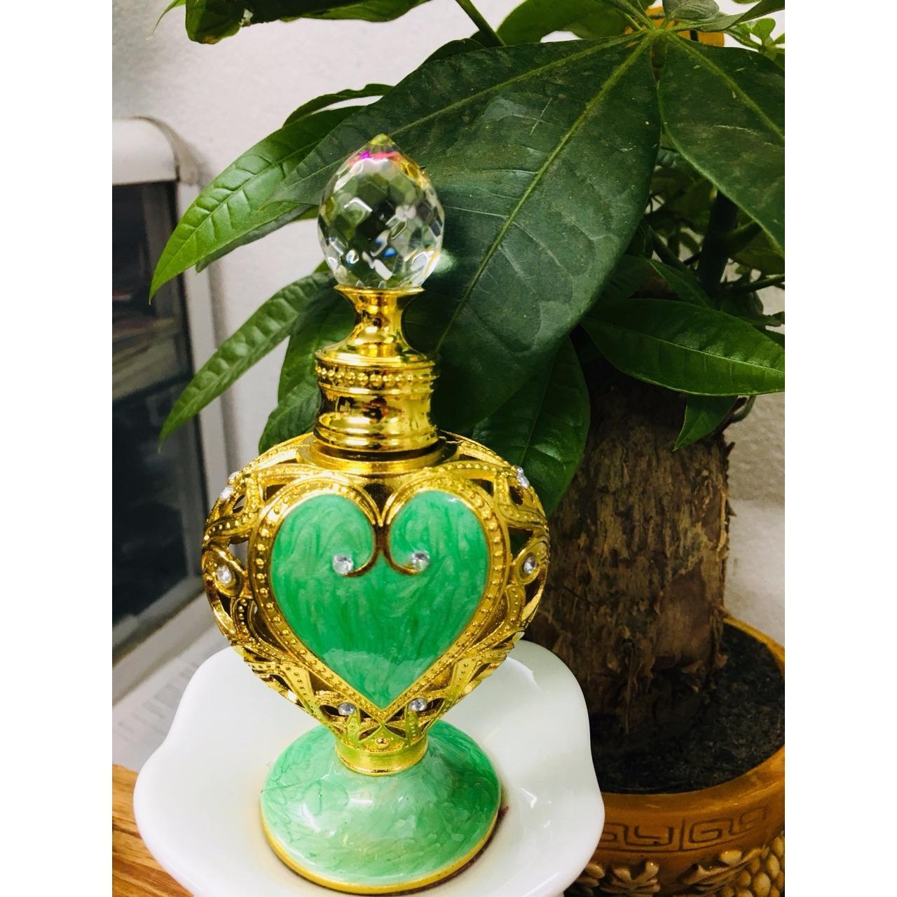 Nước hoa tinh dầu Iris- mẫu tim ruby(màu ngẫu nhiên)