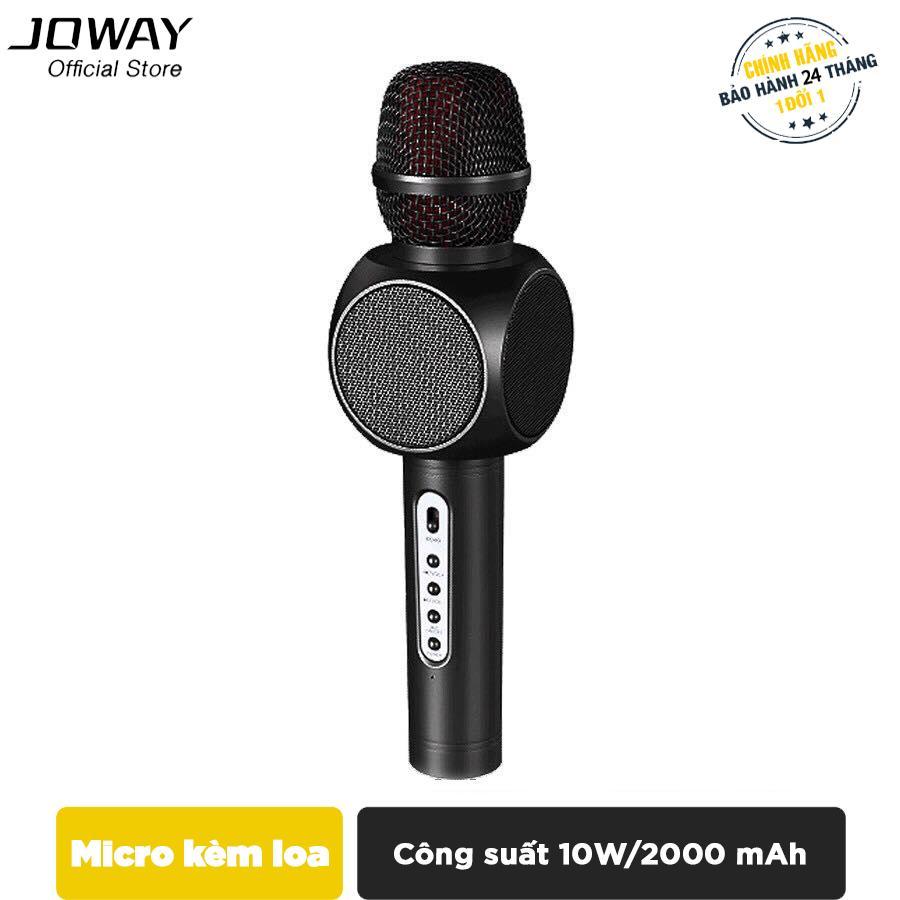 Micro karaoke tích hợp Loa Bluetooth JOWAY KGB01 cho smartphone, ipad, samsung, iPhone - Hãng phân phối chính thức