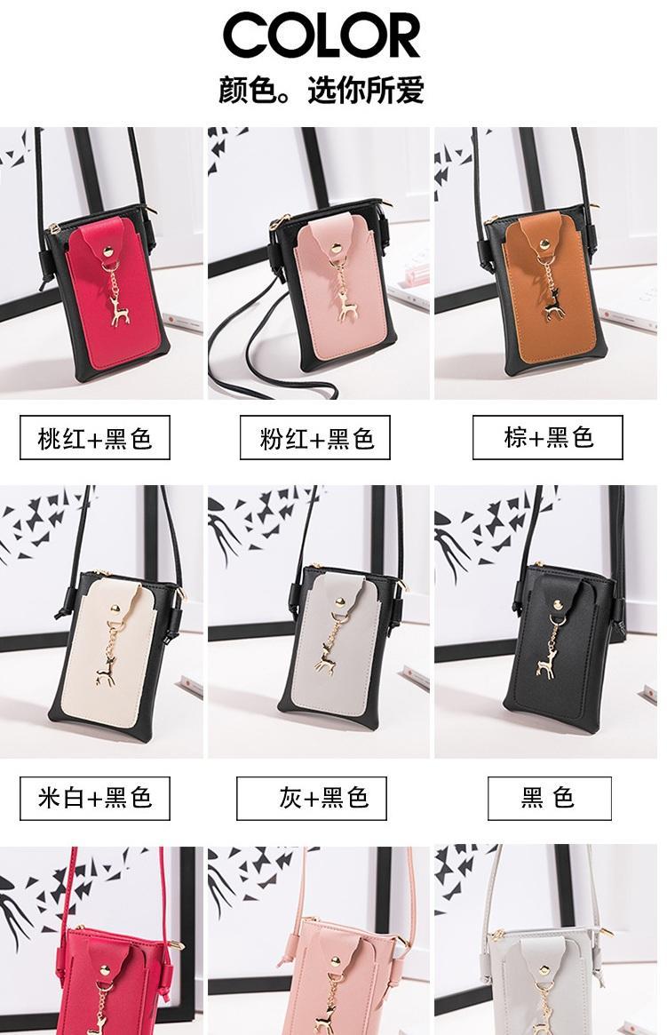 Hình ảnh Túi đeo chéo đựng điện thoại nữ phong cách Hàn Quốc HQ07 cực xinh