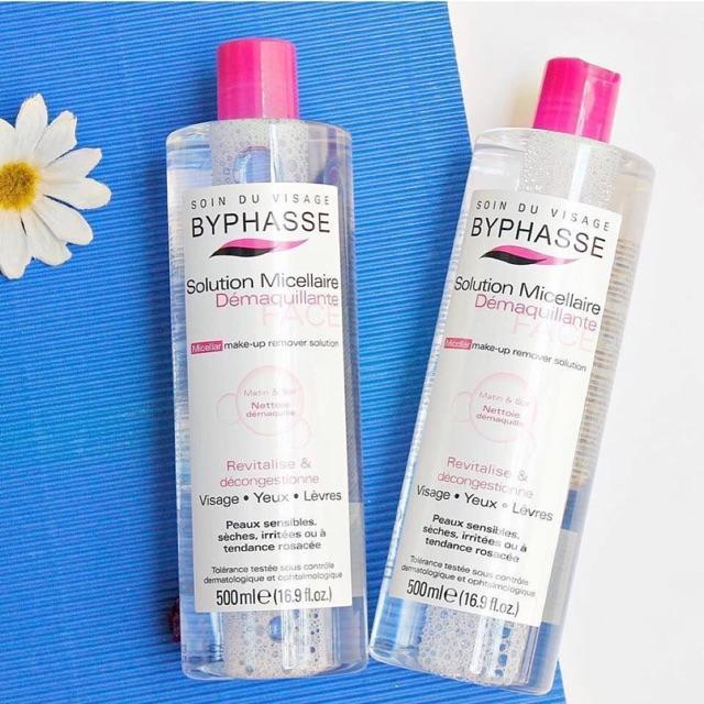 Hình ảnh Nước Tẩy Trang Byphasse Solution Micellaire 500 ml