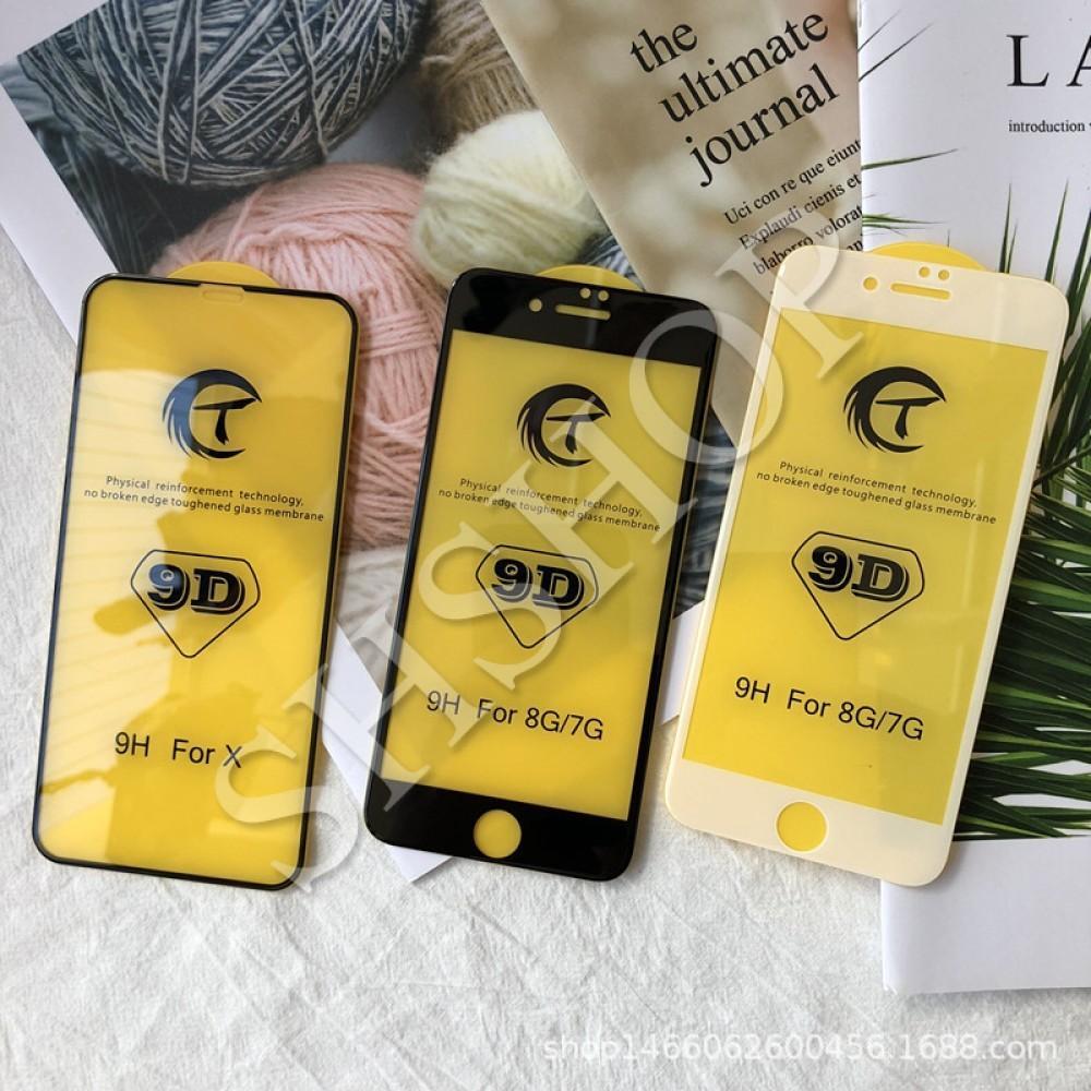 Hình ảnh Kính cường lực Full 9D cho iphone 6/6Plus / 7/7Plus / 8/8Plus / X