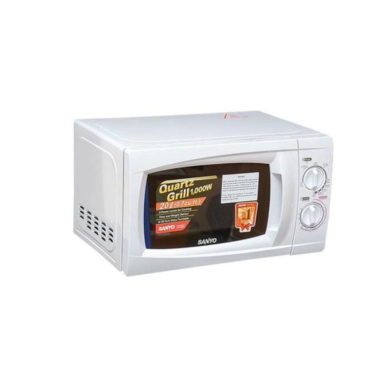 Lò vi sóng Sanyo EM-G2088W 20L (Trắng)