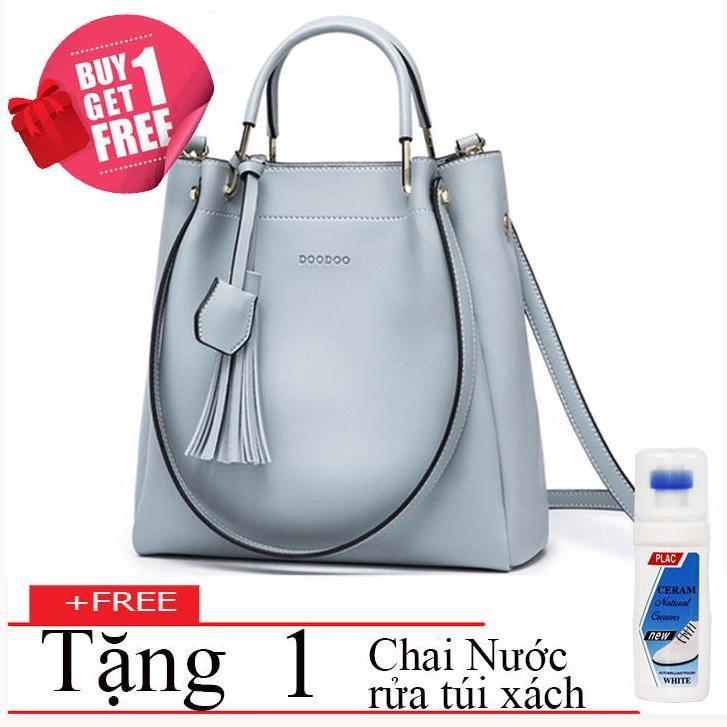 Tui Xach Tay Nữ Doodoo Fashionable D7155 1 Chai Nước Rửa Tui Xach Cao Cấp Mới Nhất