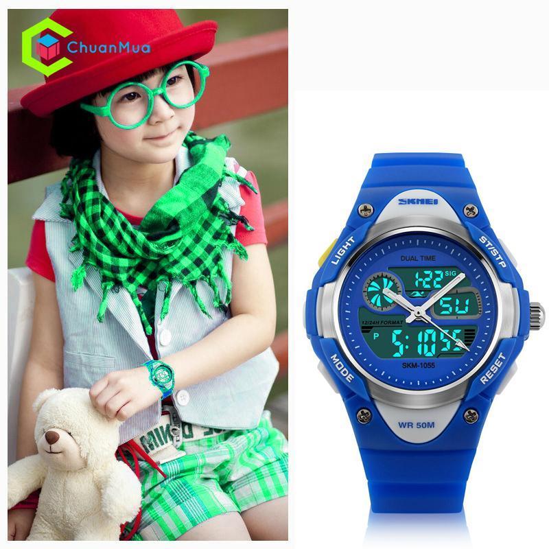 Đồng hồ Bé gái Skmei 1055 Kid Time - Mã: DHA488 bán chạy