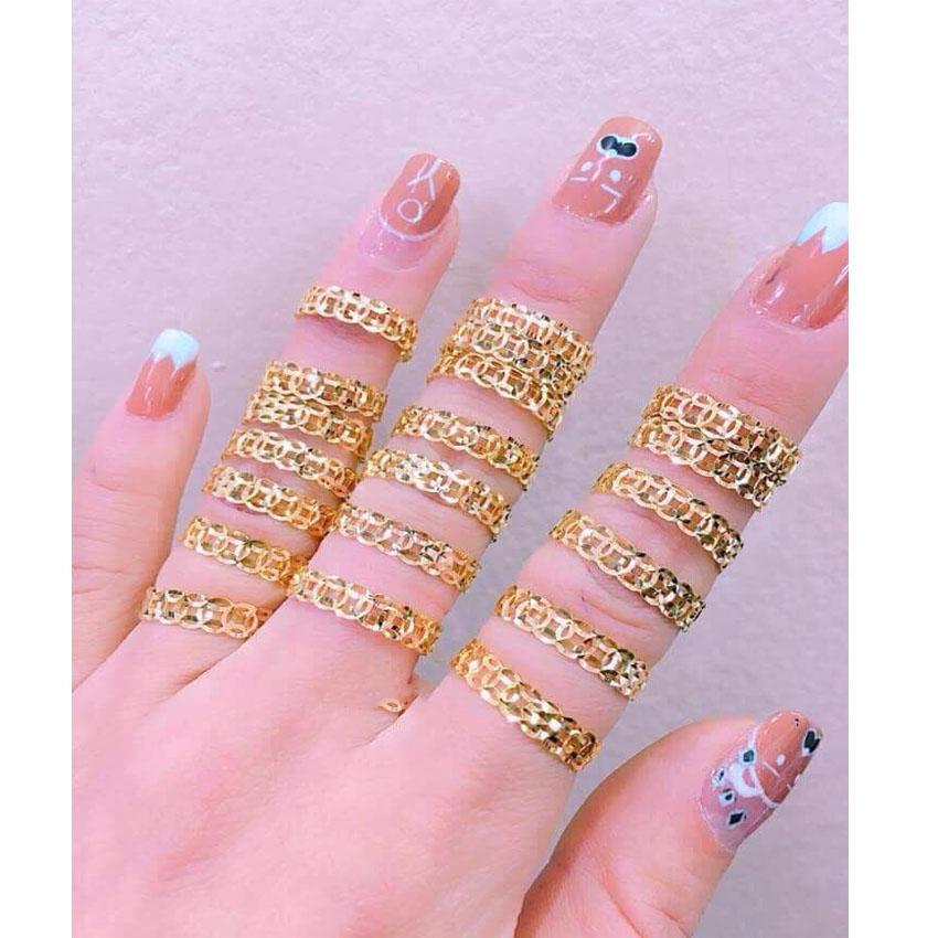 Hình ảnh Nhẫn kim tiền dành cho bạn từ 50-60kg _Shop Tuấn Kiệt