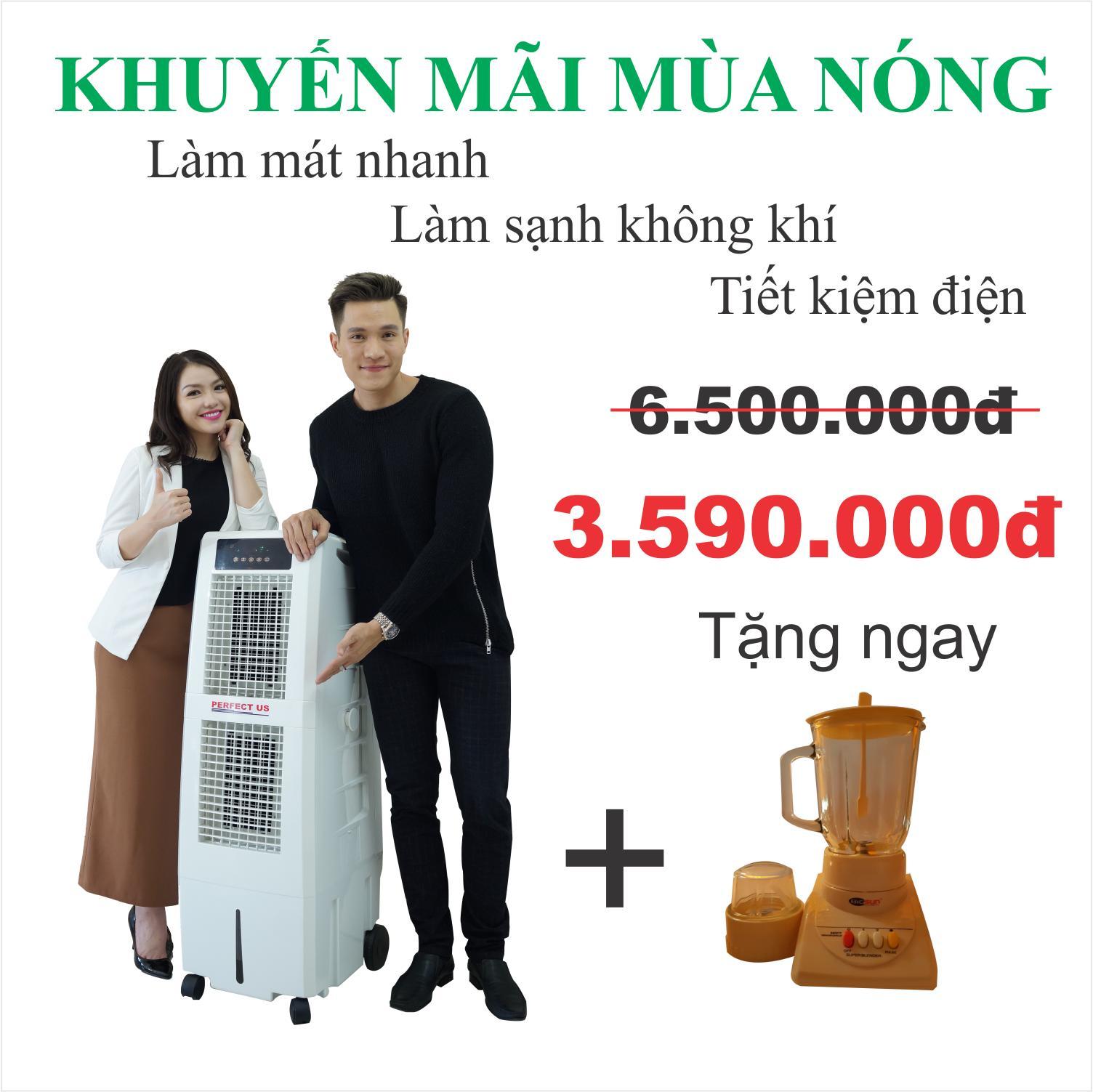 Bán May Lam Mat Khong Khi Perfect Us 0416Hr Có Thương Hiệu
