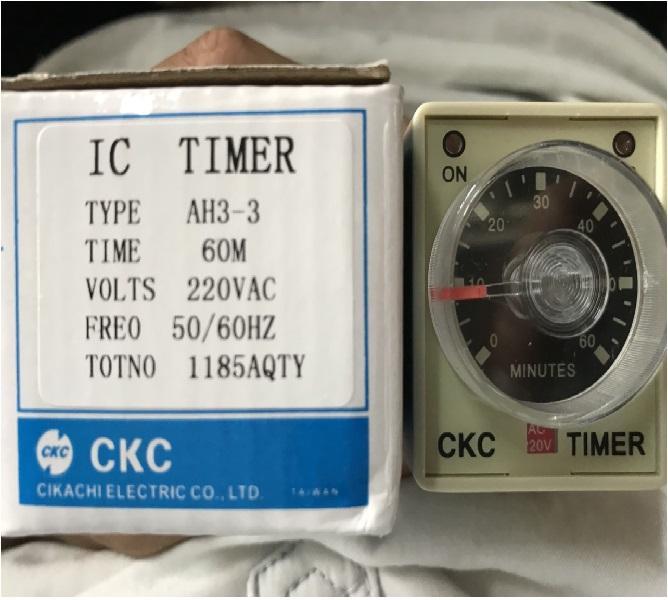 Hình ảnh Rơ le thời gian thực bộ hẹn giờ công tắc thời gian Relay thời gian CKC 1h