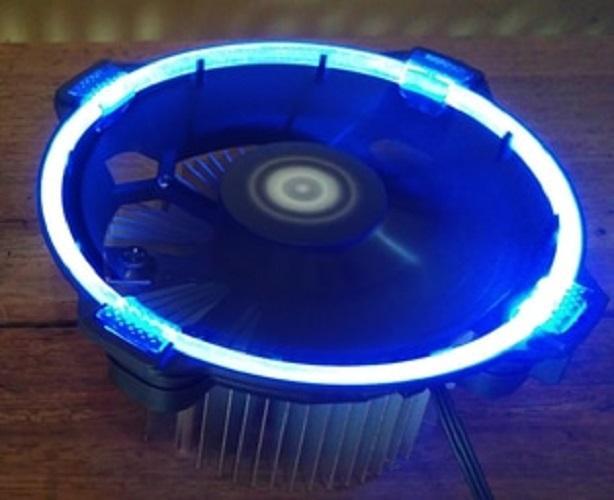 Quạt tản nhiệt ID-Cooling DK-03 Halo (Led Xanh) - AMD