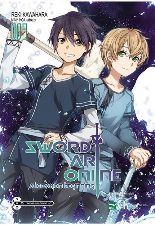 Mua Sword Art Online - Tập 9 (Tặng bookmark & bọc plastic số lượng giới hạn)