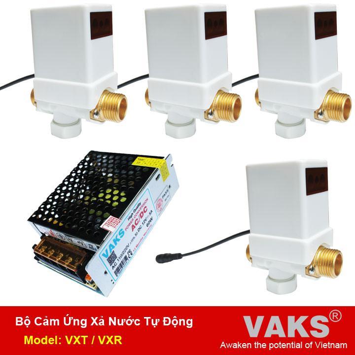 Mã Khuyến Mại 04 Bộ Xả Nước Cảm Ứng Tự Động Cho Bồn Tiểu Nam Vaks Model Vxt Nguồn Điện 12V 5A Rẻ
