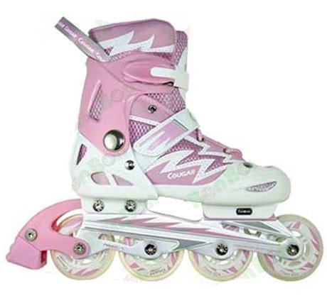 Giày trượt Patin Cougar MS835-L12 Trắng Hồng ( Size 38-41 )