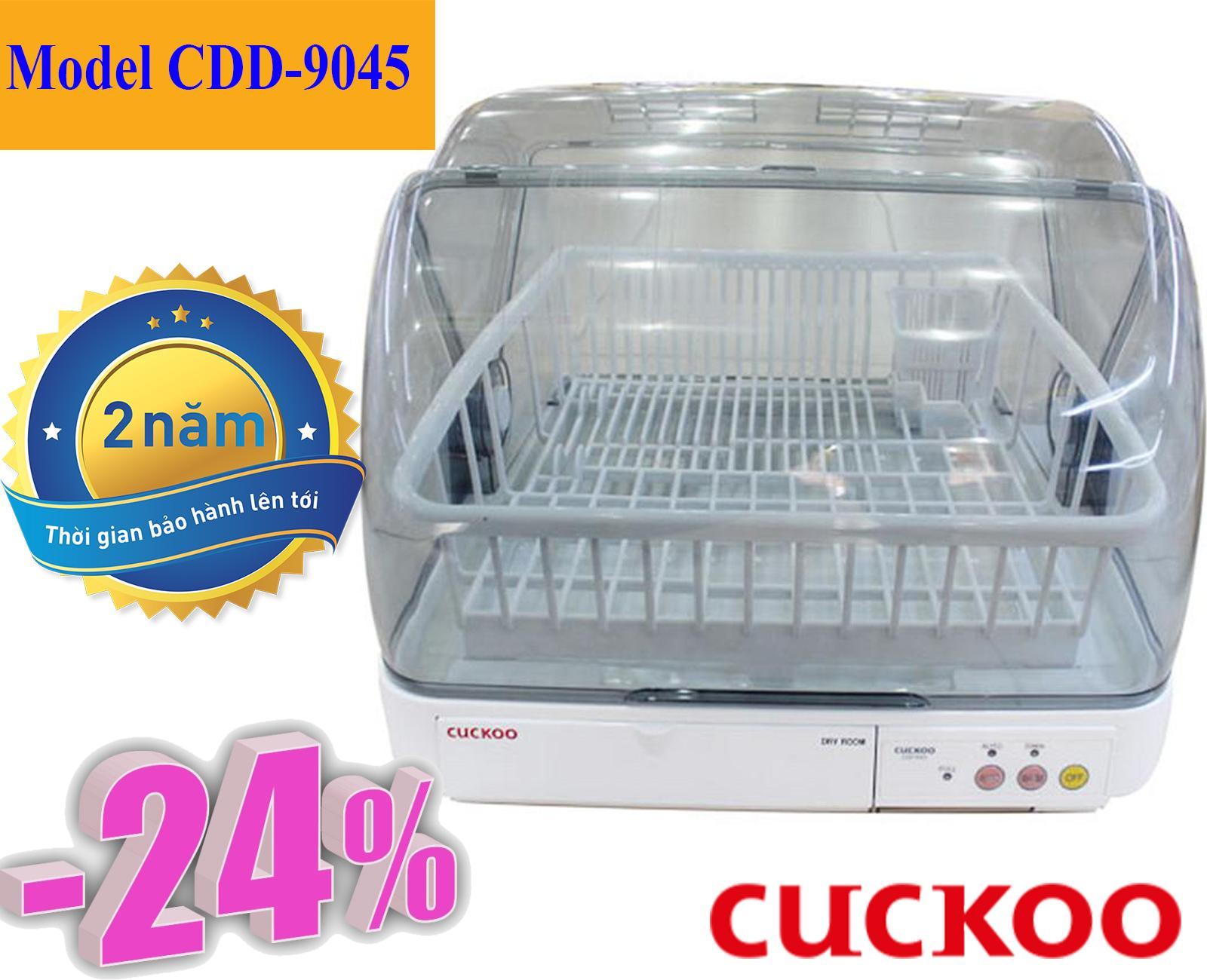 Hình ảnh Máy sấy bát Cuckoo CDD-T9045 Hàn Quốc, Sấy nhanh, Tiết kiệm điện