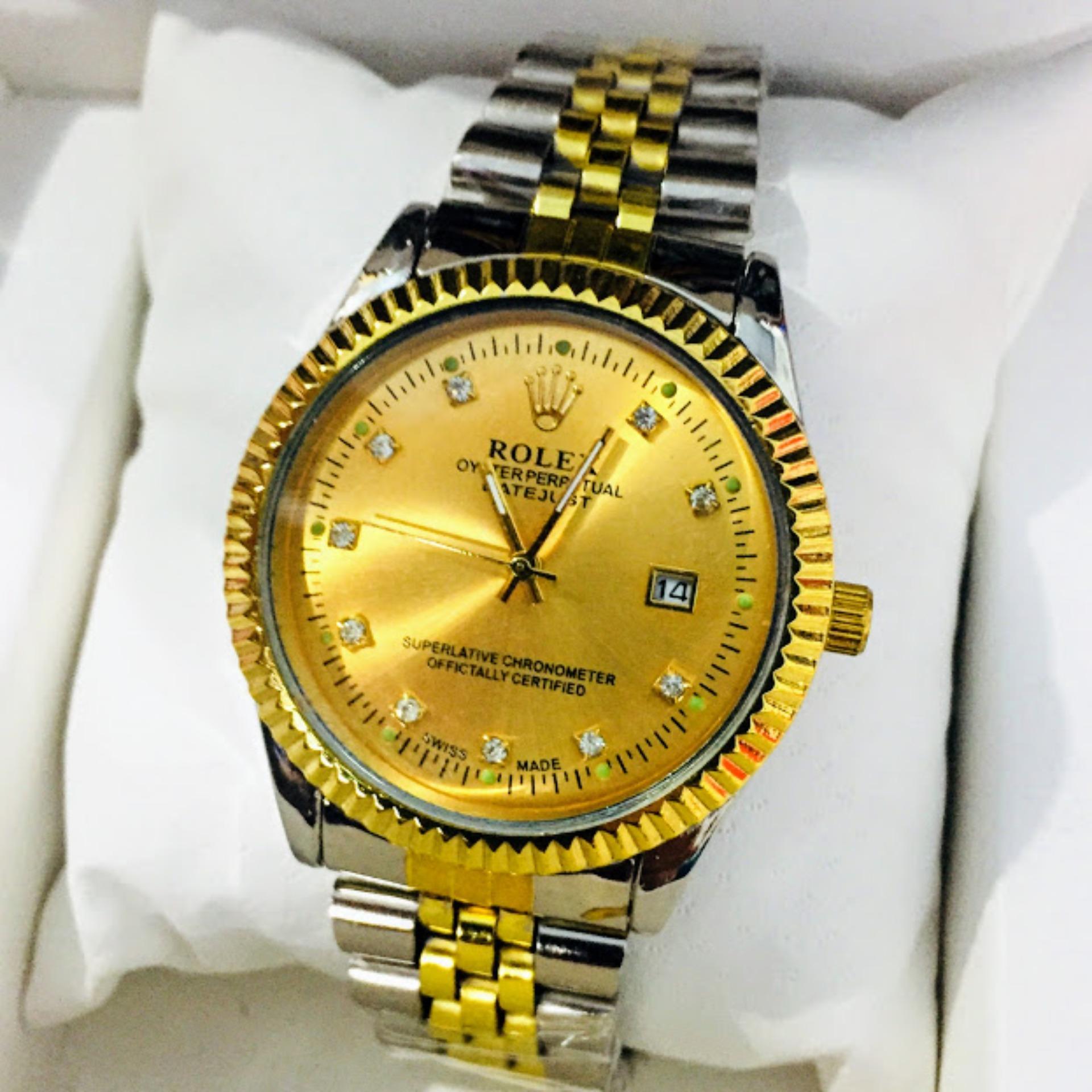 Giá Bán Đồng Hồ Rolex Day Kim Loại Thời Trang Sang Trọng Mới Rẻ