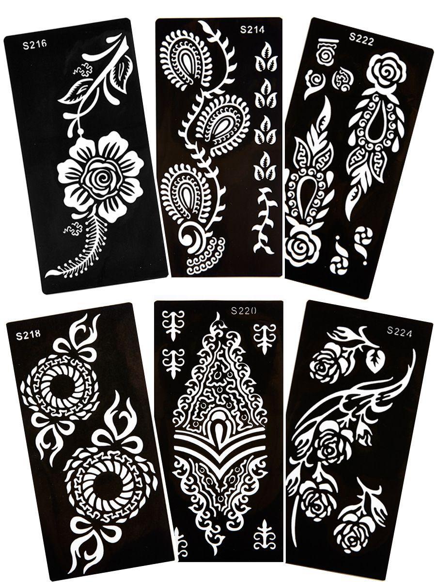 1 miếng khuôn vẽ henna size lớn
