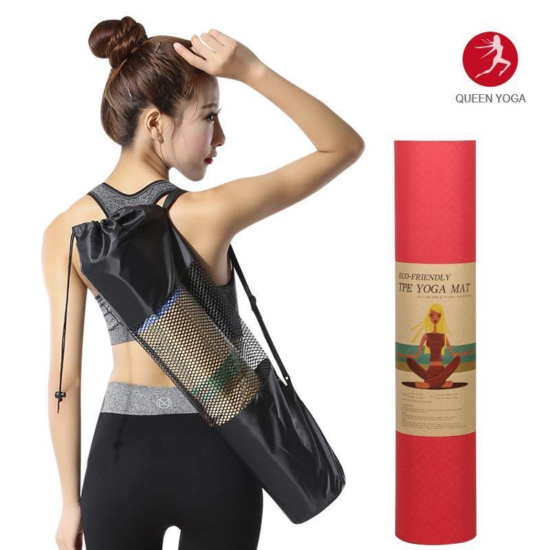 Hình ảnh Thảm tập Yoga TPE 2 lớp 6mm Đài Loan + Tặng kèm túi đựng thảm