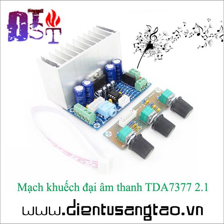 Hình ảnh Mạch khuếch đại âm thanh TDA7377 2.1