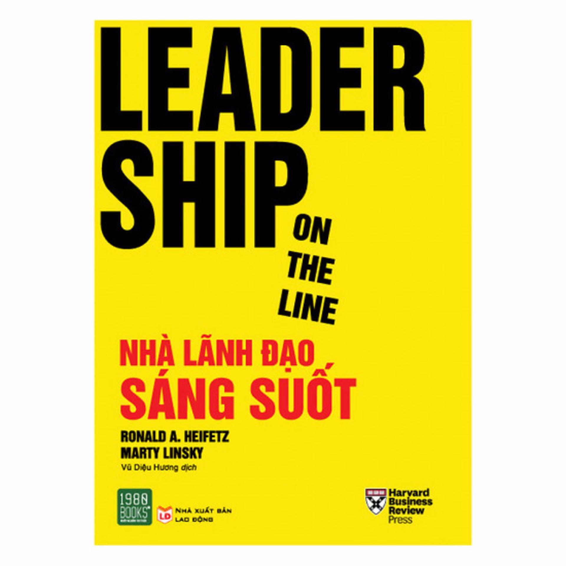 Mua Leadership On The Line - Nhà Lãnh Đạo Sáng Suốt