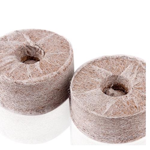 1 Cặp dinh dưỡng trồng rau thủy canh + 50 viên nén xơ dừa + 50 Rọ trồng cây thủy canh kích thước 58x60x38mm ( Dài x cao x rộng)