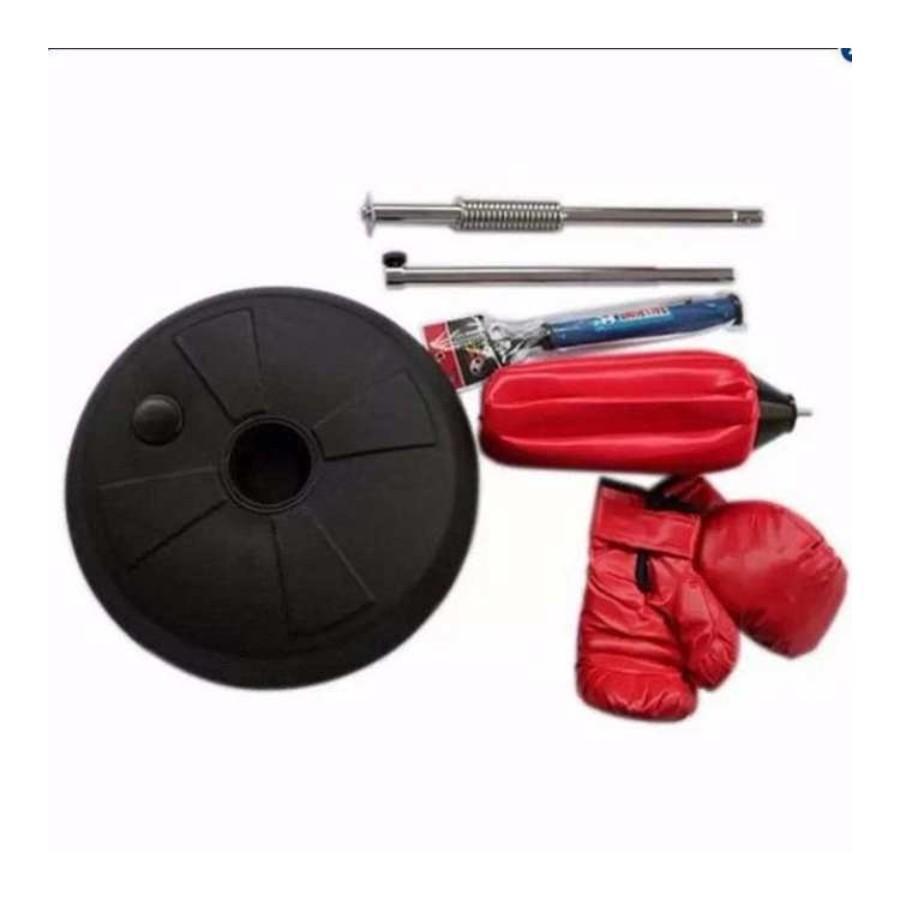 Hình ảnh Bóng phản xạ cao cấp người lớn+ Găng tay boxing+ Bơm.