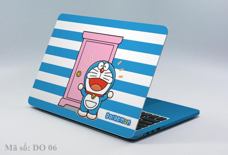 Decal laptop-Ipad DORAEMON 04 mọi kích thước máy V.NO