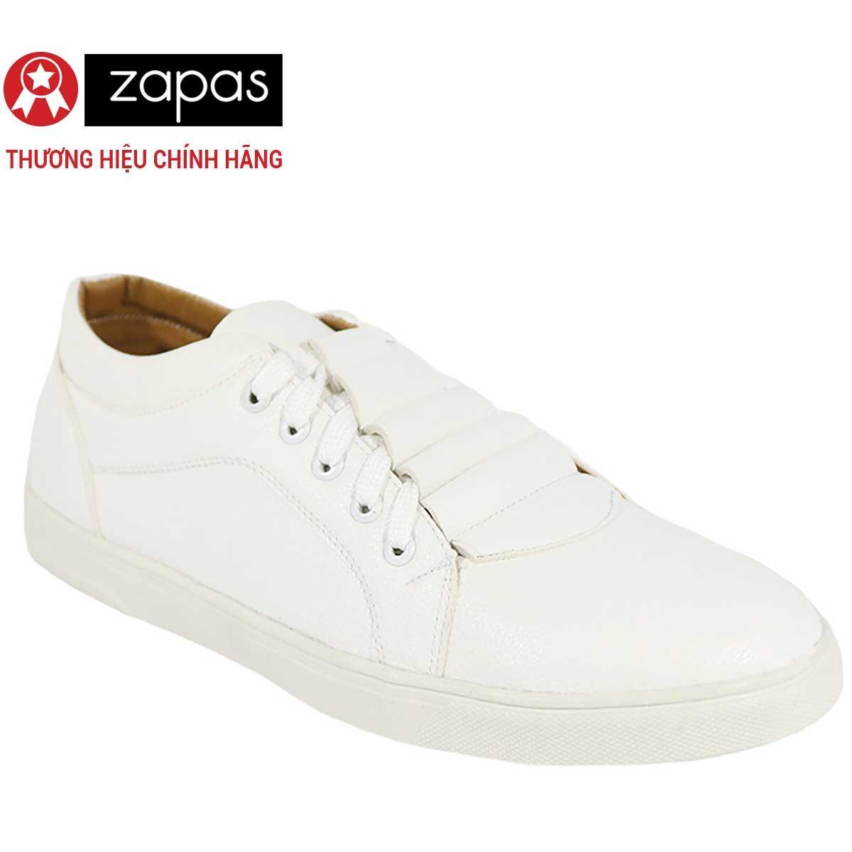 Ôn Tập Giay Sneaker Zapas Classcial Mau Trắng Gz018 Hang Phan Phối Chinh Thức Hồ Chí Minh
