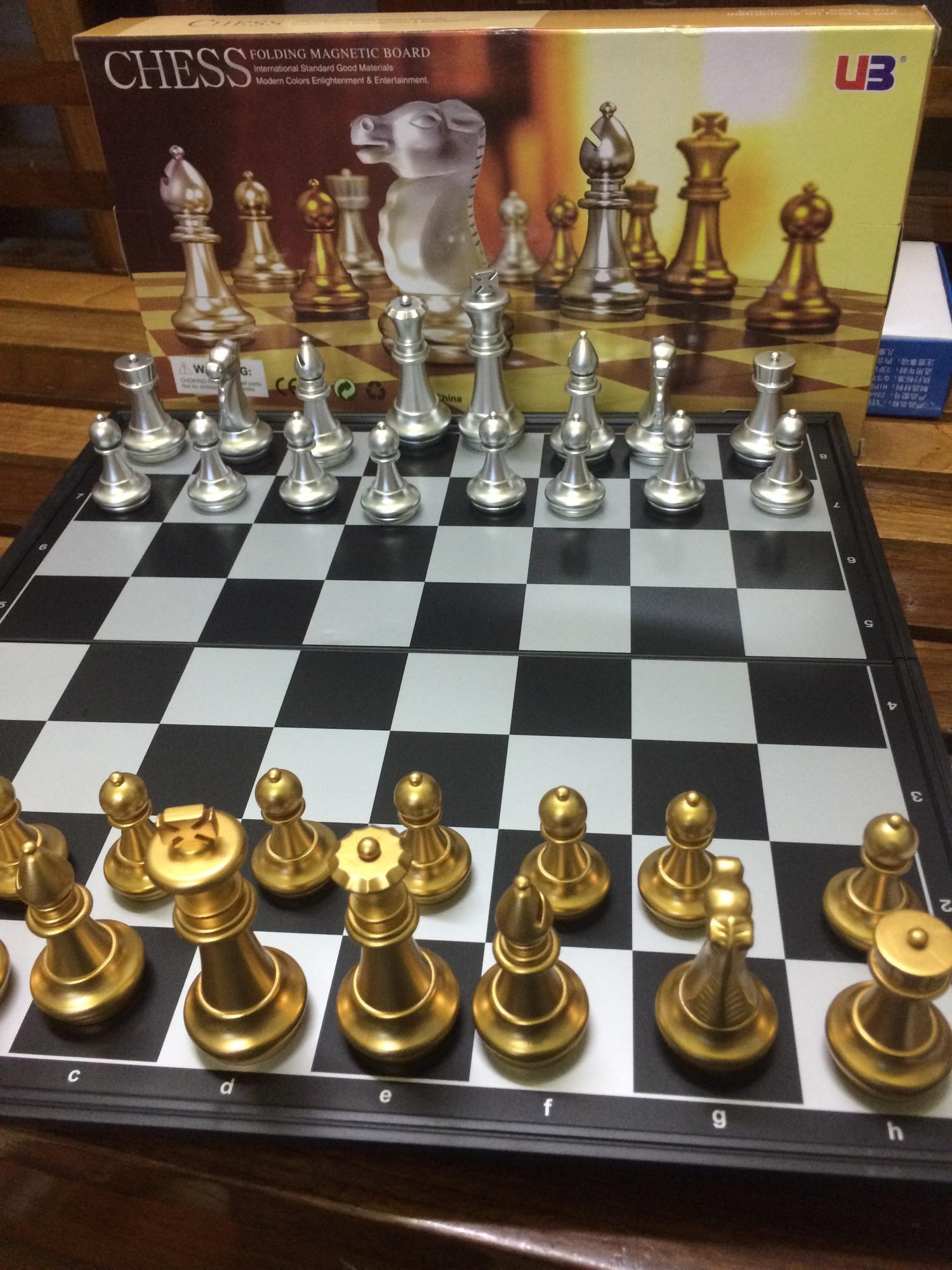 Hình ảnh Bộ cờ vua cao cấp - cỡ đại 36x36