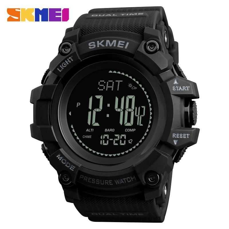 SKMEI Brand Watch Mens Sports Hours Pedometer Calories Digital Altimeter Barometer Compass Thermometer Weather 1358 Malaysia