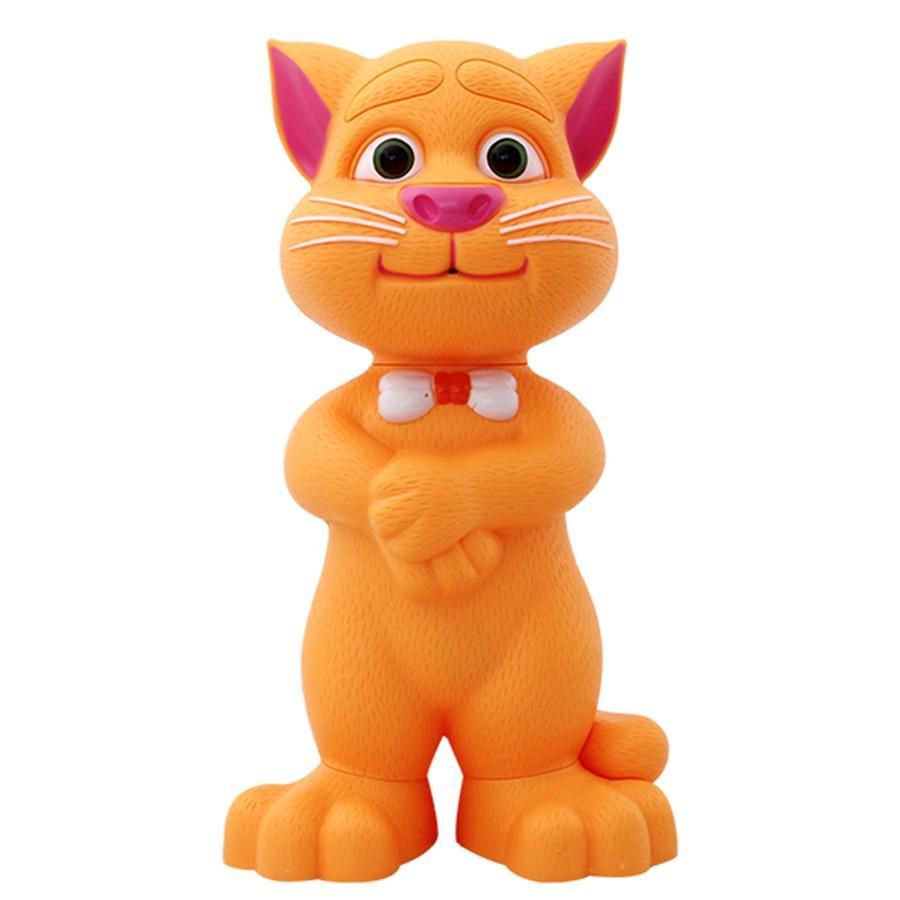 Hình ảnh Đồ chơi em bé - Mèo Kể Chuyện nhỏ (Cam) - Đồ chơi Tí Tèo