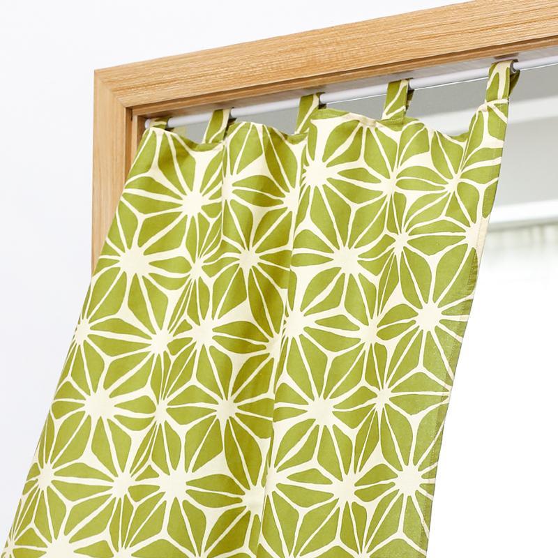 Japanese Style Cloth Curtain Partition Bedroom Half Curtain Kitchen Cloth Curtain Fitting Room Curtain Bathroom Wind Bath Curtain