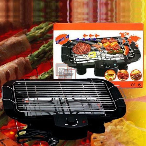 Hình ảnh Bếp nướng không khói Electric Barbecue Grill 2000W, Bep nuong ga, BH 1 đổi 1 Uy Tín, Giảm 50% Khi Mua Trên LAZADA