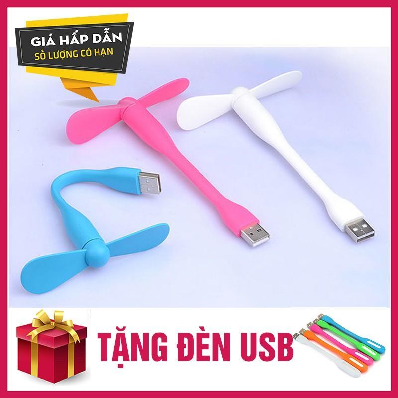 Hình ảnh 5 Quat USB mini 2 canh doi tien dung gia re + tặng đèn USB siêu sáng