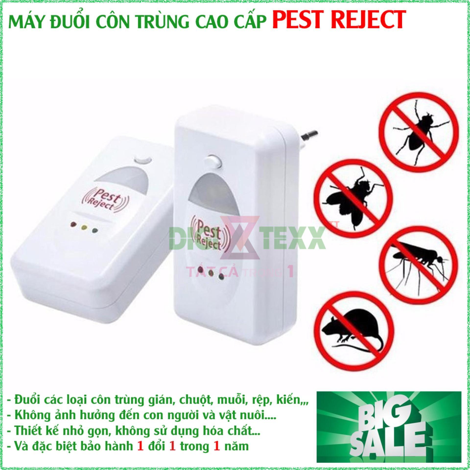 Đuổi Chuột Bằng Sóng Siêu Âm , Máy Xua Đuổi Côn Trùng Pest Reject Giúp Xua Đuổi Triệt Để Các Loại Côn Trùng Bằng Sóng Siêu Âm, An Toàn Cho Sức Khỏe - Thiết Thực Cho Gia Đình Bạn