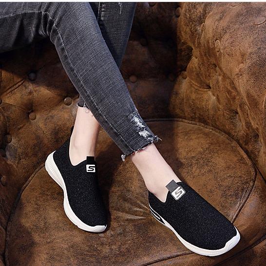 TT058D - Giày lười nữ mới nhất  phong cách Hàn Quốc