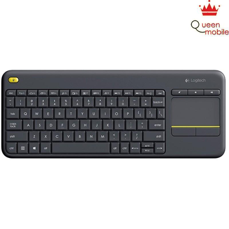 Bàn phím không dây tích hợp Touchpad Logitech K400 Plus Đen – Review và Đánh giá sản phẩm